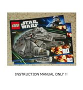 Lego 7965 - Star Wars Millennium Falcon - Instruction Manual Only / Book 1 And 2