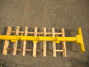 Bradley 2000 Lb. 12and039 Lifting Beam Spreader Bar Multiple Attachment Points 98060a