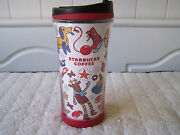 Starbucks Coffee Cute 2009 Christmas Holiday Tumbler Ted Bear Gifts Presents