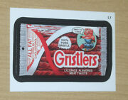 2013 Topps Wacky Packages Ans11 Series 11 Lost Wacky L1 One Per Case Gristlers