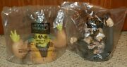 1999 Star Wars Episode I - Cup Topper Lot 10 Each - Taco Bell Pizza Hut Kfc