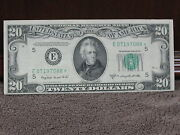 1950c 20 Federal Reserve Star Note-very Decent Note-free Ship