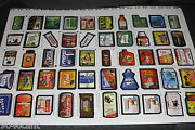 2003 Silly Supermarket Uncut Sheet Rare Playbot 1st Print Like Wacky Packages