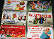 2013 Wacky Packages Series 11 Collectors Box Billboard Complete Set 6 Ozzy Coke