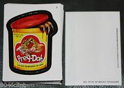 2013 Wacky Packages Series 11 Complete Die-cut Set 55 Sticker Cards