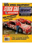 Stock Car Racing April 1988 Issue From Very Nice Private Estate Collection 4/88
