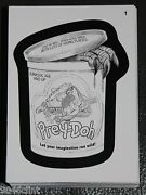 2013 Wacky Packages Series 11 Pencil Drawing Sketch Complete Set 55 Cards Rare