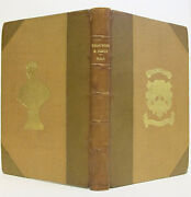 Bird Eggs And Nests 8 Color Plates Antique Prize Binding Ornithology Watching Rare