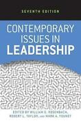 Contemporary Issues In Leadership By William E. Rosenbach English Paperback Bo