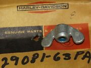 Harley Aermacchi 29081-63pa Filter Cover Wing Nut Nos Oem