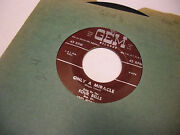 Four Bells Only A Miracle/my Tree 45 Rpm 1954 Gem Records Vg+ [rare Doo Wop]