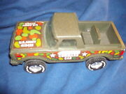 1960and039s - 1970and039s Vintage Nylint U.s. Army Command Car Truck U.s.army 415421