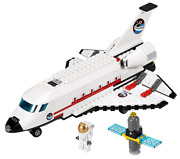Lego 3367 - Town City Space Port - Space Shuttle - 2011 - No Box