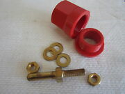 Superior Pin Receptacle Rp100gr 100a Red - Nos