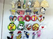 500 Mickey Disney Collectible Trading Pins Lot 100 Tradable Hm Cast Le