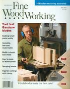 2004 Fine Woodworking Magazine Bandsaw Blade/measuring Accurately/cutting Small