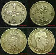Norway Silver Coins Choice Of Coins Supplied In Coin Wallet