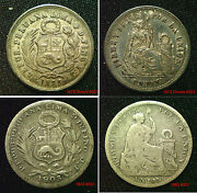 Peru Silver Coins Choice Of Coins Supplied In Coin Wallet