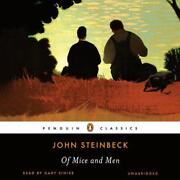 Of Mice And Men By John Steinbeck English Compact Disc Book Free Shipping