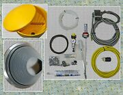 Waste Oil Heater Parts Extended Heater Installation Kit With Rubber Flashing