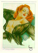 Alberto Vargas - Pinup Girls Series 3 - Parallel Foil Chase Card - Pick One