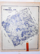 Coryell County Texas Land Office Owner Map Fort Hood Copperas Cove Gatesville