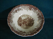 J And G Meakin Warwick Romantic England 8 3/8 Round Serving Bowl