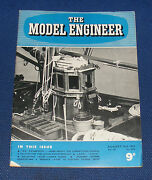 The Model Engineer 26th August 1954 Volume 111 Number 2779 - Treadle Lathe