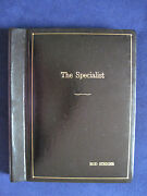 The Specialist Original Script - Rod Steiger's Personal Copy Signed By Him