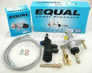 Exedy Slave, Master Cylinder And Stainless Clutch Line Kit 1994-2001 Acura Integra