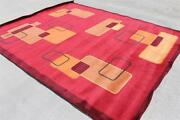 T17712 Gorgeous Bright Colored Tibetan Woolen Rug 8and039 X 10and039 Hand Knotted In Nepal