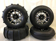 Sti 28 Sand Drifter Front And Rear Paddle Tires Hd Alloy Wheels Polaris Rzr1000