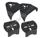 Upper And Lower Rear Air Bag Mounting Brackets Weld On Air Ride Suspension