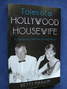 Memoir Of Betty Marvin Actor Lee Marvin's 1st Wife Signed And Inscribed By Her