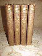 Antique Books Of Yorkshire Past And Present Vol. I - Iv By Thomas Baines -c1875