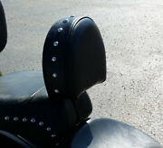 100 American Made Harley Heritage Softail Driver Backrest 93-06 Ez On/off