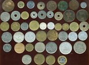 France Coins Lot Of 46 8 Napoleon Iii Of The 1990s Of1 Cent To100 Franc Etat