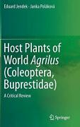 Host Plants Of World Agrilus Coleoptera, Buprestidae A Critical Review By Edu