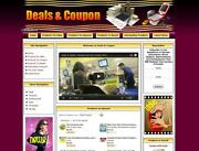 Coupons Website For Sale. Work At Home Business Opportunity Free Domain Name.
