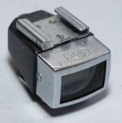 Zeiss Ikon Camera Viewfinder For 35mm Lens With Shoe Mount