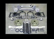 1937 - 1948 Chevy Car Mustang Ii Ifs Front End Kit Drop Spindles Power Rack