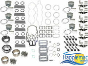 Mercury 3.0l 225 250 Hp V6 Efi Carb Powerhead Rebuild Kit Double Roller Bearings