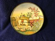 Easter By V. Tiziano Italy Etched And Painted By Vento Flair Plate 402/ 2000