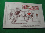 Association Footballers Soccer 1935-36 50 Tobacco Stamps From Wills Of England