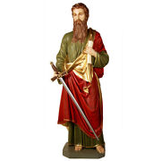 St. Paul Statue Tabernacle  Reliquary  Religious Church