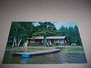 Dairymenand039s Country Club Home Lake Lodge Boulder Junction Wisconsin Wi. Postcard