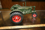 Massey Harris Challenger Model Tractor Green No Box Used Great Shape Look Jsh