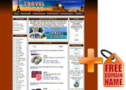 Store Travel Website For Sale. Adsense Youtube Automated Rss News