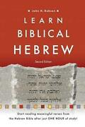 Learn Biblical Hebrew By John H. Dobson English Paperback Book Free Shipping
