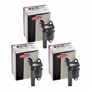 Set Of 3 Delphi Ignition Coil Gn10165 For Chevrolet Gmc Hummer Buick 05-13